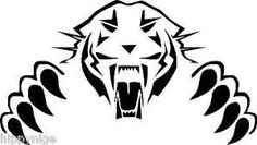 Image result for tiger airbrush stencil