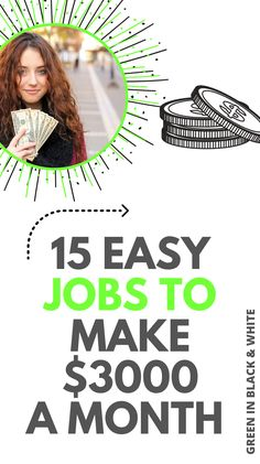 Looking for well paid jobs that pay well? If this this post cover 15 awesome stay at home jobs to make money from home. Great if you're looking for online jobs or ways to make money online.