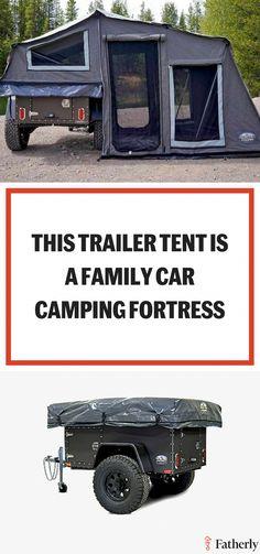 camping camping with kids camping tips camping ideas camping tent camping gear camping with dogs camping hacks Rv Camping, Camping Ideas, Jeep Camping Trailer, Camping Hacks With Kids, Zelt Camping, Tent Campers, Best Tents For Camping, Camping Supplies, Camping Checklist