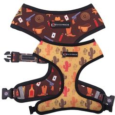 Comfy, cute, and functional — that's what the Oui Oui Frenchie Reversible Dog Harness offers you and your pet. Original Oui Oui Frenchie design Reversible for 2 different looksQuick-drySafety lockAdjustable strap for supportReflective safe. Dog Harness, Dog Leash, Milk Shop, Cowboy Theme, Dog Furniture, Dog Clothes Patterns, Dog Items, Collar And Leash, Collars