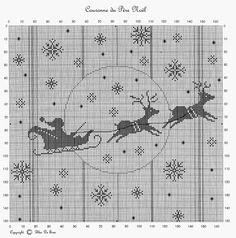 Gallery.ru / Фото #1 - 40 - Hela75 Santa Cross Stitch, Cross Stitch Pillow, Just Cross Stitch, Cross Stitch Borders, Cross Stitch Charts, Cross Stitch Designs, Cross Stitching, Cross Stitch Embroidery, Cross Stitch Patterns