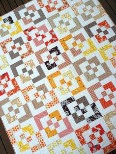 Very cool quilt pattern