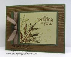 Autumn Prayers by Speedystamper - Cards and Paper Crafts at Splitcoaststampers