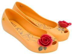 MELISSA ULTRAGIRL + BEAUTY AND THE BEAST AD  -  Rosa / Vermelho