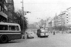 The-Forgotten-Trolleybuses-of-Prague-Tres-Bohemes-3 European Countries, Prague Transport, Old Pictures, Czech Republic, Techno, Transportation, Nostalgia, Retro, Praha