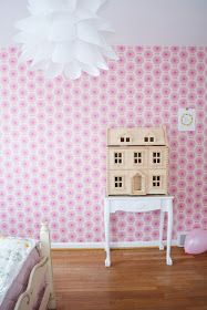 this morning at seven am sharp, my husband and i tiptoed into eleanor's room and tossed eight pink balloons on her sleeping head ... she aw...