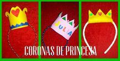Tutorial: Corona de Princesa con fieltro o goma eva. ¿Cómo se hace con una felpa o diadema? #Retoinfantil DIY Manualidad