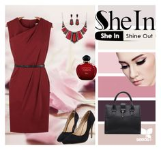 """""""SheIn"""" by m-sisic ❤ liked on Polyvore featuring Christian Dior"""