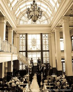 Church Street Station Ballroom, where Christian and I got married! Such a beautiful, vintage feel! Love this place!!