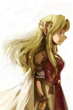 #ALBW Princess Zelda - Artist : マシュ