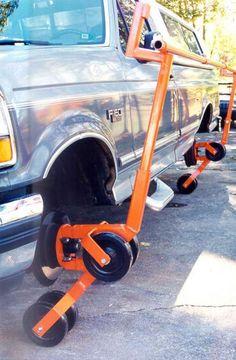 EASY TILTER Car Truck Restoration Tool Auto Rotisserie