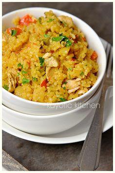 Seriously Seasoned Rice