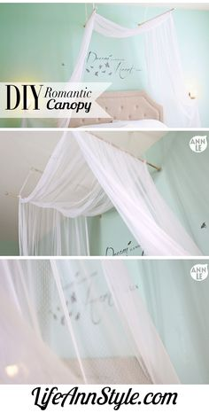 I absolutely adore canopies.  so serene and elegant.