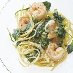 Garlic Shrimp Linguine - Allrecipes.com