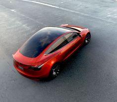 Official: Tesla unveils the Model 3 • CF Blog