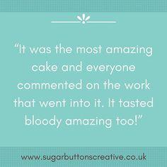 Happy Customers  #feedback #happycustomers #testimonial #christeningcake #sugarbuttonscreative #norwich