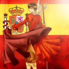 HETALIA: Spain by razephyr.deviantart.com on @deviantART