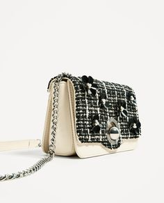 Image 1 of CROSSBODY BAG WITH INTERCHANGEABLE FLAP from Zara