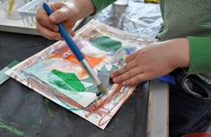 Tissue Paper Collage- The Eric Carle Museum
