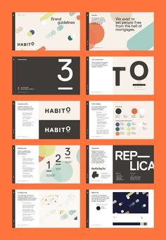 Habito - MultiAdaptor Web Design, Slide Design, Book Design, Layout Design, Cover Design, Graphic Design, Brand Guidelines Design, Presentation Layout, Brand Presentation
