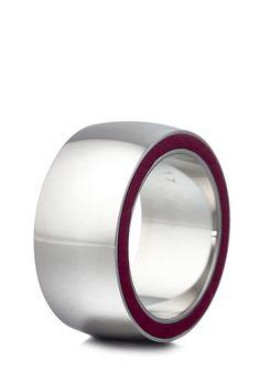Esprit Jewel Ring Persephone, Edelstahl, Leder rosa Jetzt bestellen unter: https://mode.ladendirekt.de/damen/schmuck/ringe/?uid=ea73ae13-d487-549d-8826-00ce29994f01&utm_source=pinterest&utm_medium=pin&utm_campaign=boards #schmuck #ringe #bekleidung Bild Quelle: brands4friends.de