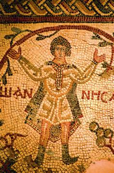 Mount Nebo church mosaics