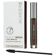 Wunder2 Wunderbrow Eyebrow Gel Perfect Eyebrows in 2 Mins Waterproof BlackBrown  #Wunder2