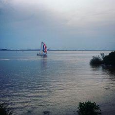 Praia de Ipanema em Porto Alegre, RS