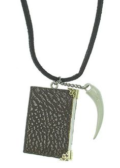 Harry Potter Tom Riddle's Diary And Basilisk Fang Necklace