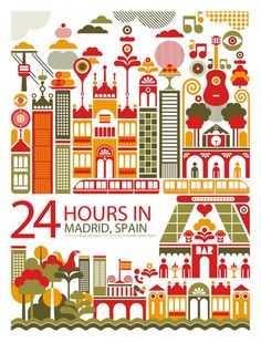 24 hrs in Madrid
