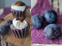 Pflaumen Mohn Cupcakes Rezept