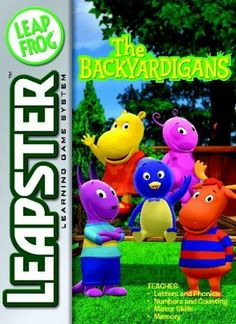 LeapFrog Leapster Learning Game Backyardigans by LeapFrog. $18.00. From the Manufacturer                Welcome to The Backyardigans! Join your friends Pablo, Uniqua, Tyrone, Tasha and Austin on their fantastic adventures! This collection of imaginative games will introduce important math, language arts and motor skills, preschool readiness skills and creativity. Leapster2 players can connect online for extra activities and rewards.  And with the LeapFrog® Learning P...