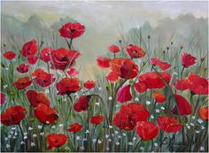 makowe pole artist: Edyta Muszelik