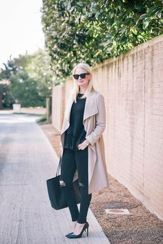 Merritt of The Style Scribe has found spring coat perfection in the Gideon Trench