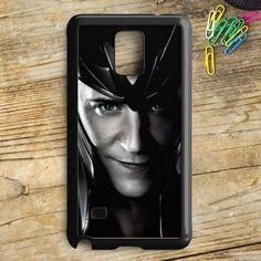 Loki The Avengers Movie Tom Hiddleston Samsung Galaxy Note 5 Case | armeyla.com