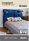 Byg en sengegavl med indbyggede hylder og kasser