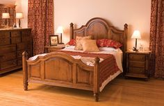 Savannah Bed from Simply Amish furniture