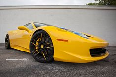 Ferrari 458 Italia on ADV.1 Wheels