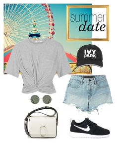 """""""Untitled #401"""" by barelyforeignview on Polyvore featuring T By Alexander Wang, NIKE, Ivy Park, 3.1 Phillip Lim, Forever 21, statefair and summerdate"""