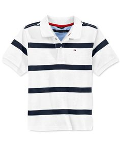 60a40b9df4c75 Tommy Hilfiger Boys  Clubhouse Stripe Polo   Reviews - Shirts   Tees - Kids  - Macy s