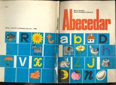Abecedar, a I-a 1982 Book Illustration, My Childhood, Projects To Try, Cover, Books, 1st Grades, Book, Libros, Book Illustrations
