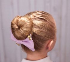 Love this French braid to bun using bun form (aka hot buns or a sock bun)