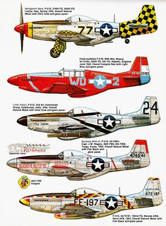 Squadron Signal N° 45 - P-51 Mustang