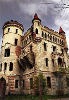 Abandoned Russian Castle     ........................................................ Please save this pin... ........................................................... Because for real estate investing... Click on this link now!  http://www.OwnItLand.com