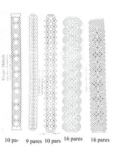 Entredos con bolillos. Bobbin Lacemaking, Bobbin Lace Patterns, Loom Patterns, Lace Heart, Lace Jewelry, Lace Earrings, How To Purl Knit, Needle Lace, Lace Making
