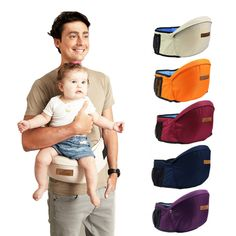 2016 New Design Baby Carrier Waist Stool Walkers Baby Sling Hold Waist Belt  Backpack Hipseat Belt Kids Infant Hip Seat 3a9119d2852