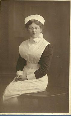 Unidentified Nurse circa 1912