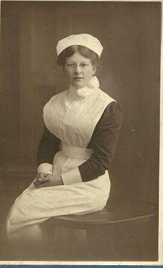 Unidentified Nurse circa 1912