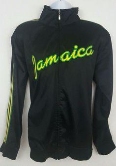 Jamaica Black Full Zip Track Jacket by Morissey Size XL #Morissey #BasicJacket