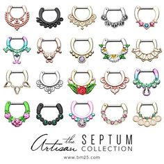 Septum clickers